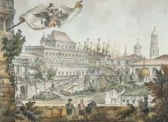 Кваренги Д. Теремной дворец в Московском Кремле