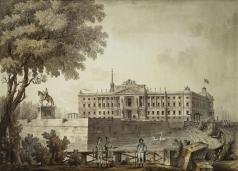 Кваренги Д. Вид на Михайловский замок