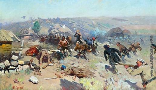 Греков М. Б. Бой у Карпово-Обрывской слободы