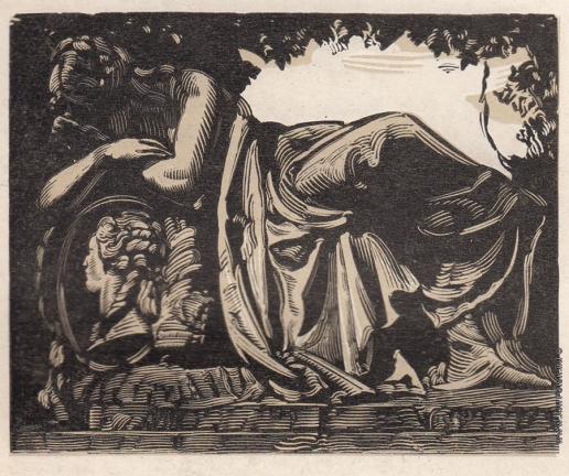 Маторин М. В. Иллюстрация к обложке книги «Мартос»