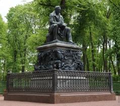 Клодт П. К. Памятник И.А. Крылову