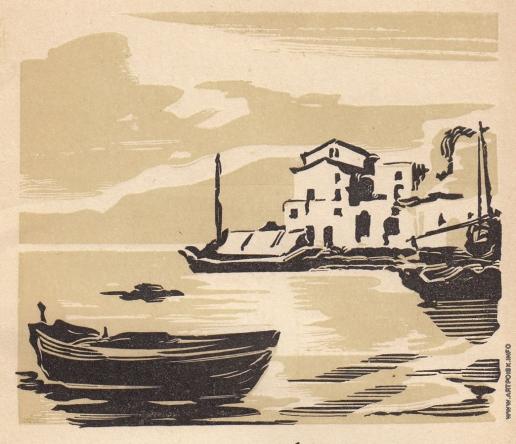 Маторин М. В. Иллюстрация к обложке книги «Сильвестр Щедрин»