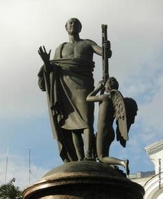 Мартос И. П. Памятник Ломоносову