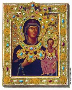 Солнцев Ф. Г. Образ Иоасафовской Божией Матери