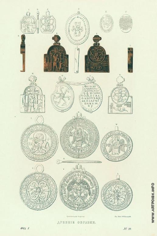 Солнцев Ф. Г. Древние образки