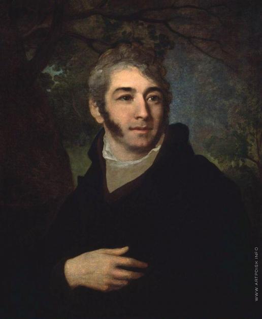 Боровиковский В. Л. Мужской портрет