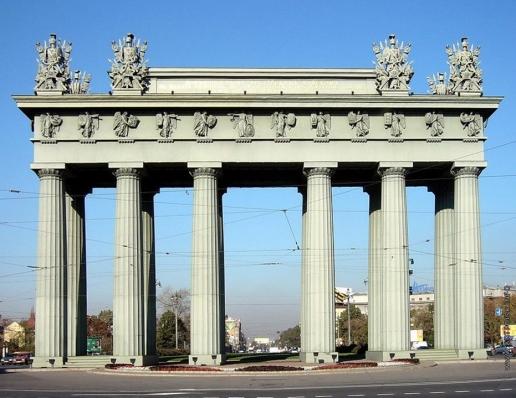 Стасов В. П. Московские Триумфальные ворота