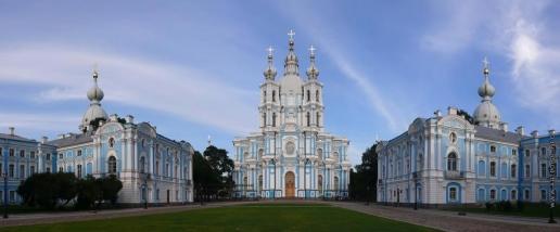 Растрелли Б. Смольный монастырь в Санкт-Петербурге