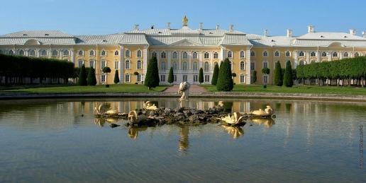 Растрелли Б. Большой дворец в Петергофе
