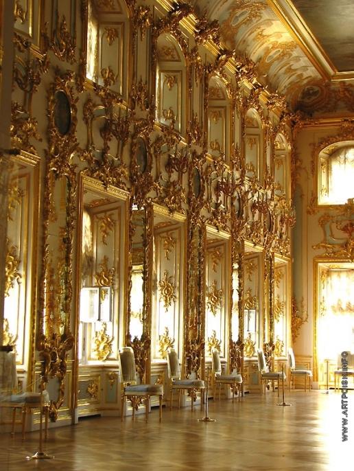 Растрелли Б. Танцевальный зал Большого дворца в Петергофе