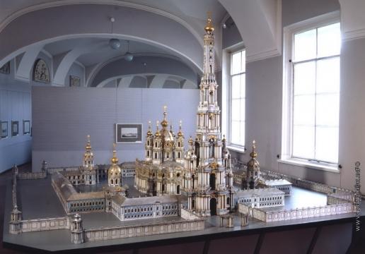 Растрелли Б. Смольный монастырь (модель)