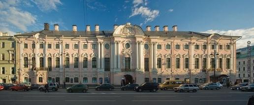 Растрелли Б. Дворец Строгановых