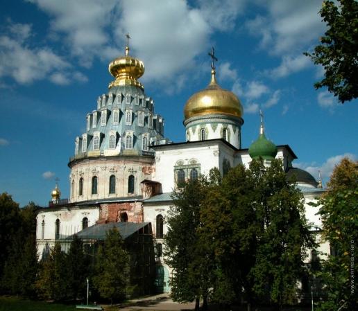 Растрелли Б. Ново-Иерусалимский монастырь в Истре