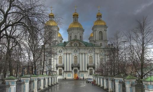 Чевакинский С. И. Никольский военно-морской собор