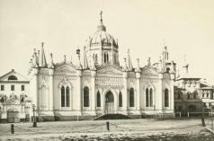 Росси К. И. Екатирининская церковь Вознесенского монастыря в Кремле