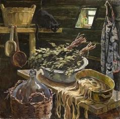 Талалаев А. Н. Холодная баня