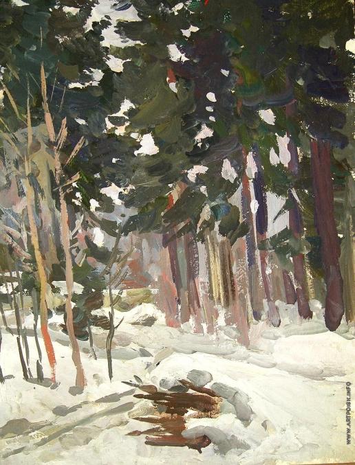 Талалаев А. Н. Ранняя зима