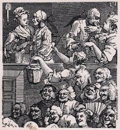 Маторин М. В. Иллюстрация к обложке книги «Хогарт»