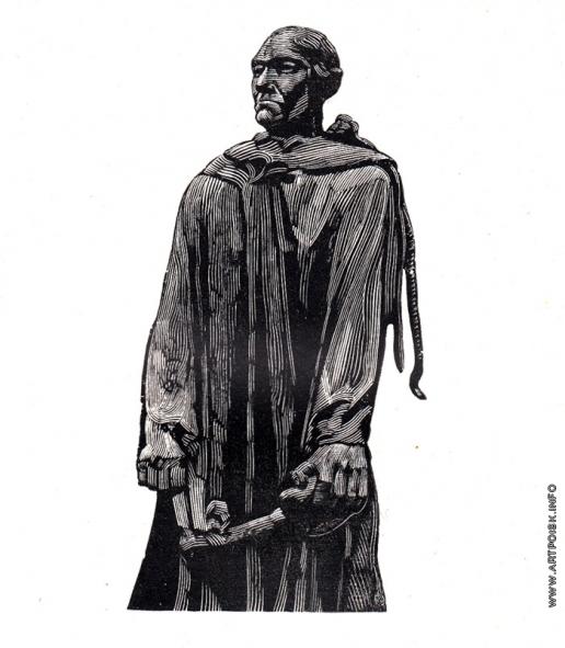Маторин М. В. Иллюстрация к обложке книги «Роден»