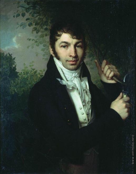 Боровиковский В. Л. Портрет А.П.Дубовицкого. Между 1816 и