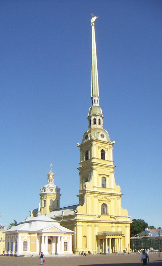 Трезини Д. Петропавловский собор