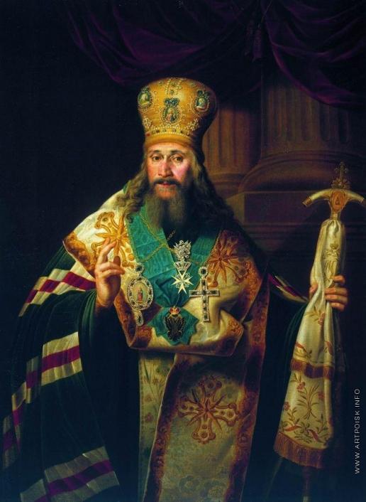 Боровиковский В. Л. Портрет Амвросия Подобедова