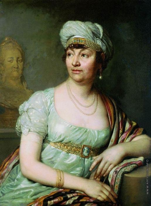 Боровиковский В. Л. Портрет Анны Луизы Жермены де Сталь (?)