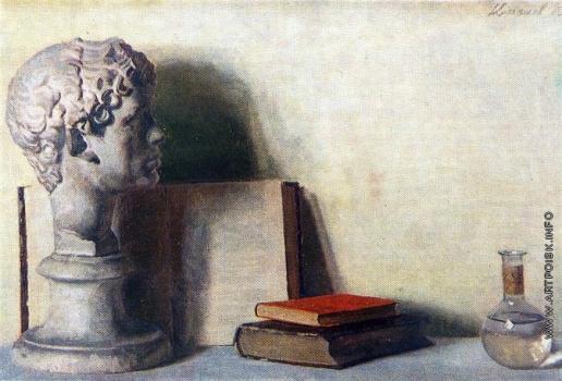 Коржев-Чувелев Г. М. Гипс и книги