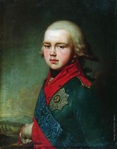 Боровиковский В. Л. Портрет Великого князя Константина Павловича