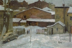 Коржев-Чувелев Г. М. Московский дворик