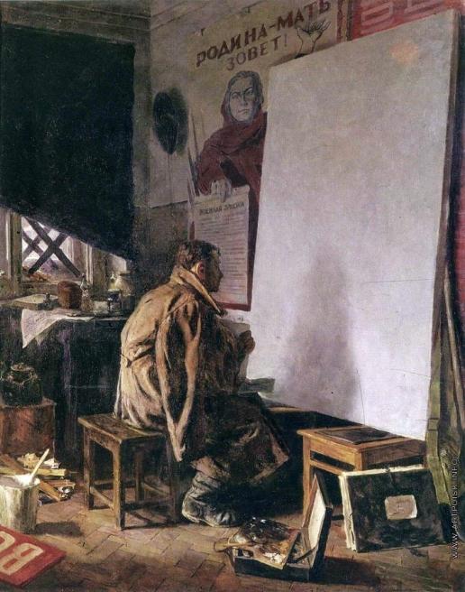 Коржев-Чувелев Г. М. В дни войны