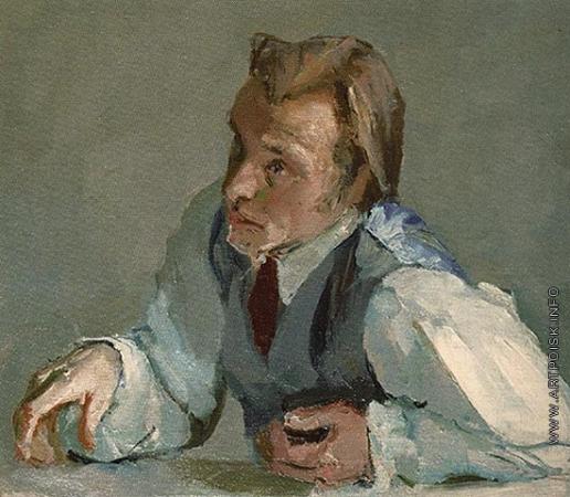 Коржев-Чувелев Г. М. Портрет Д. Краснопевцева