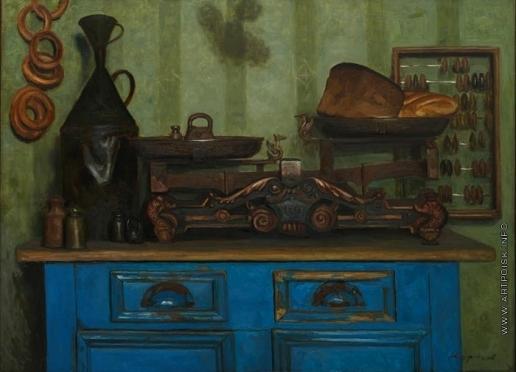 Коржев-Чувелев Г. М. Деревенская лавка