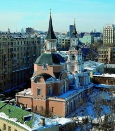 Зарудный И. П. церковь Петра и Павла на Новой Басманной улице