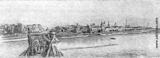 Герасимов С. В. Новгород, разрушенный фашистами
