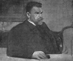 Герасимов С. В. Мужской портрет