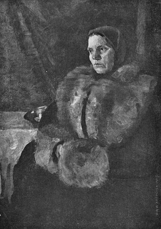 Герасимов С. В. Портрет матери