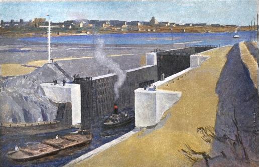 Герасимов С. В. Беломоро-Балтийский канал им. И.В. Сталина
