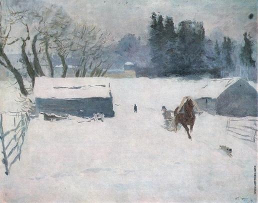 Герасимов С. В. Зима