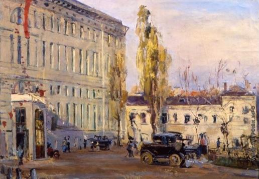 Яковлев Б. Н. Городской вокзал