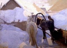 Попов Л. В. Зима