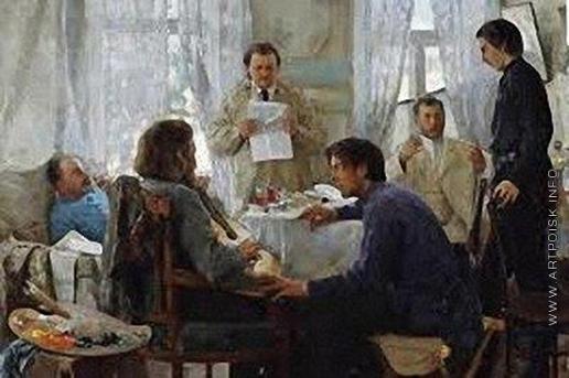 Попов Л. В. Товарищи