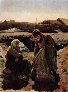 Попов Л. В. Тряпичники-нищие