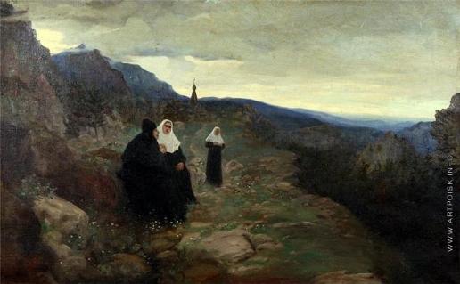 Попов Л. В. Одухотворенный пейзаж