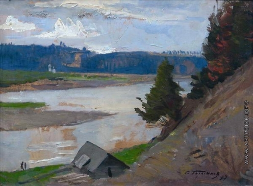 Герасимов С. В. Высокий берег реки