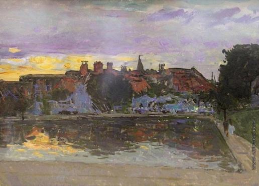 Герасимов С. В. Городской пейзаж