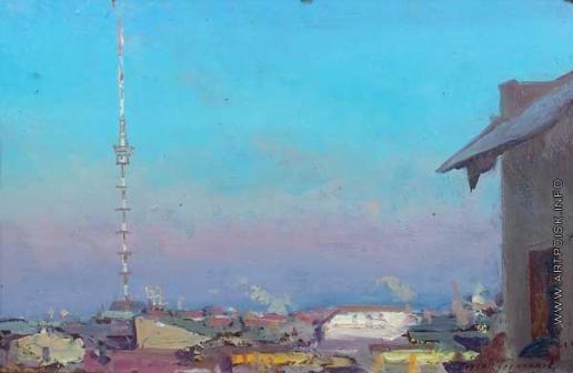 Герасимов С. В. Панорама города