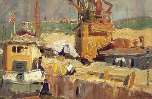 Герасимов С. В. В порту