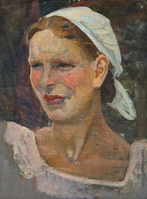 Герасимов С. В. Женский портрет