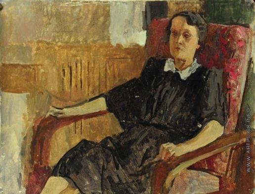 Герасимов С. В. Портрет жены
